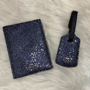 Coach Star Glitter Travel Set